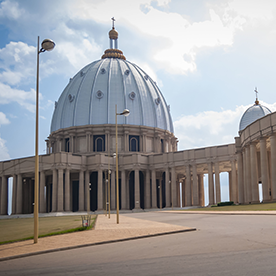Cote D'Ivoire - The Basilica of our Lady of Peace in Yamoussoukro