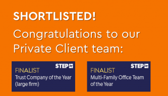 Ocorian shortlisted in trust company and family office of the yea categories