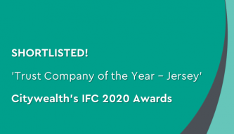 Shortlisted for trust company of the year