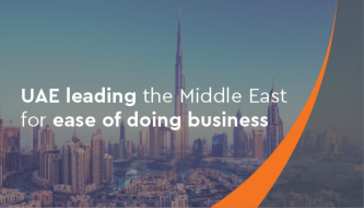 UAE leading the Middle East for ease of doing business