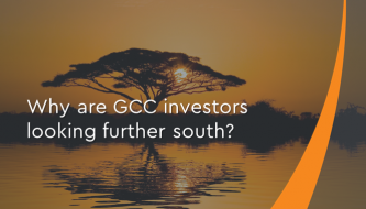 Why are GCC investors looking further south