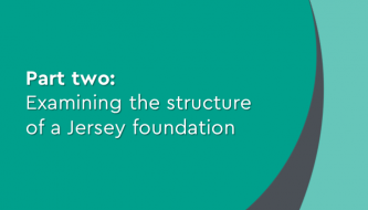 Examining the structure of a Jersey foundation