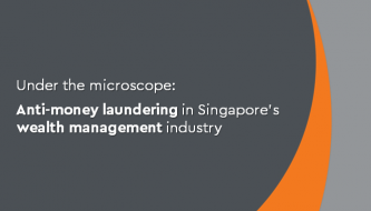 AML in Singapore's wealth management industry