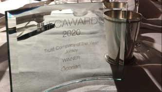 Trust of the Year - Jersey trophy