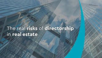 The real risks of directorship in real estate