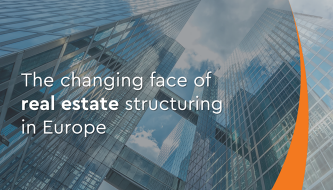 The changing face of structuring in real estate