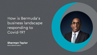 How is Bermuda's business landscape responding to Covid-19?