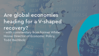 Are global economies heading for a V-shaped recovery?