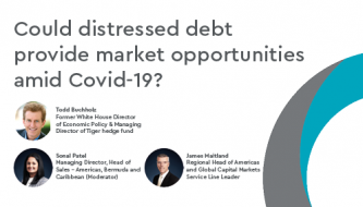 Could distressed debt provide market opportunities amind Covid-19?