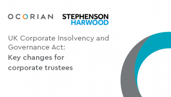 UK Corporate Insolvency and Governance Act: Key changes for corporate trustees