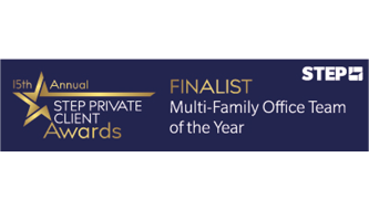 We've been shortlisted for Multi-Family Office of the Year in STEP's Private Client Awards 2020