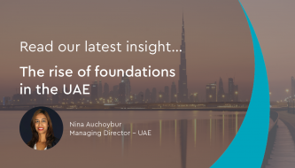 The rise of foundations in the UAE