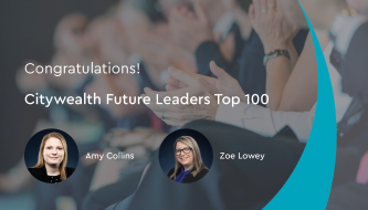 Two Citywealth Future Leaders Top 100: 2020