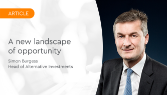 A new landscape of opportunity