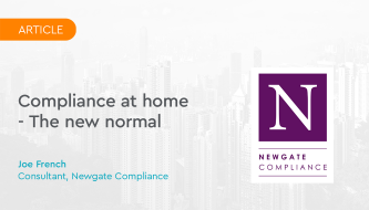 Compliance at home - The new normal