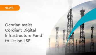 Ocorian assist Cordiant Digital Infrastructure Fund to list on LSE