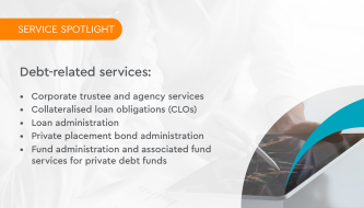 Service spotlight: Debt-related services