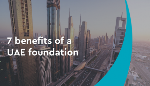 7 benefits of a UAE foundation