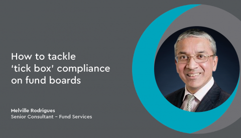 How to tackle 'tick box' compliance on fund boards